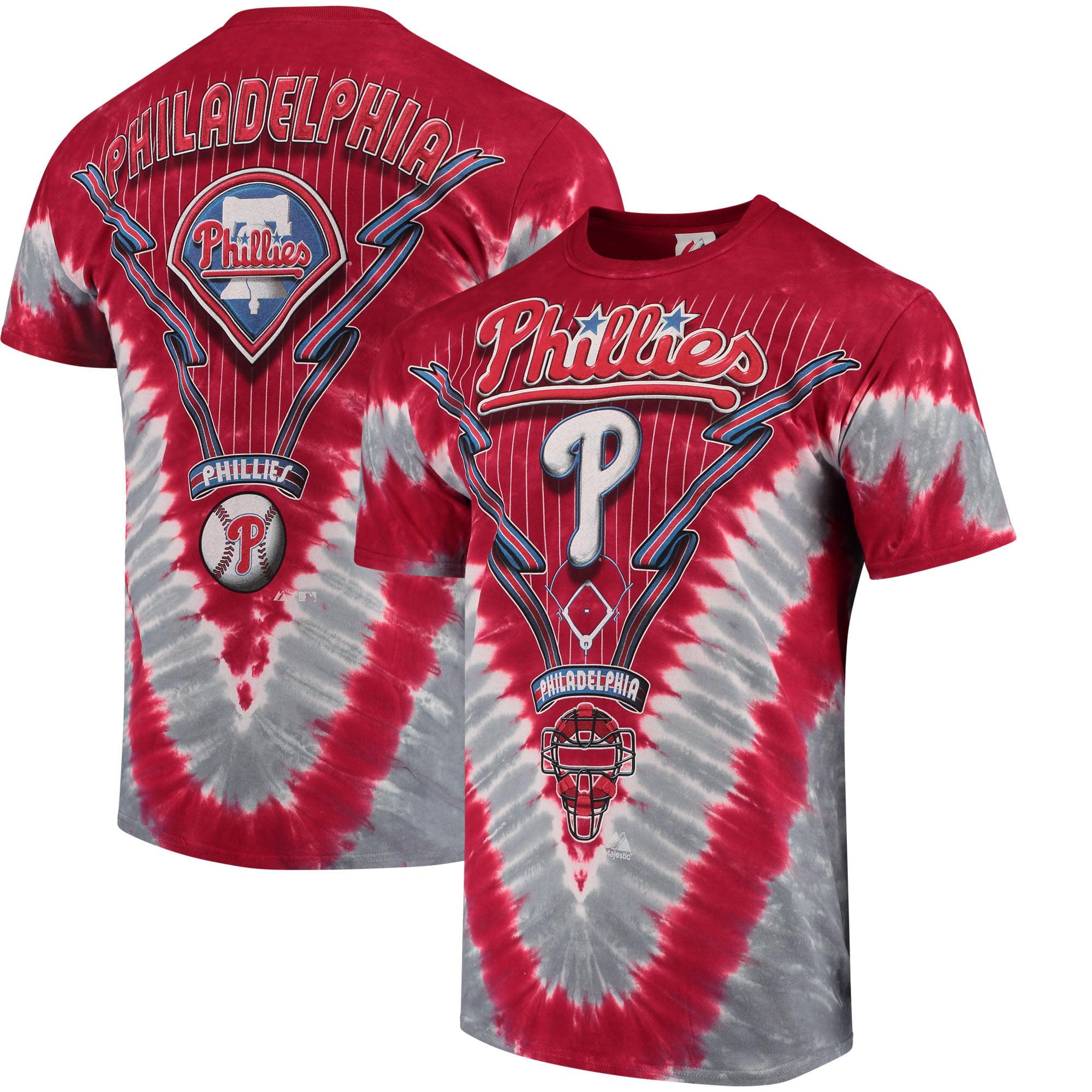 Philadelphia Phillies - Logo V Tie-Dye T-Shirt