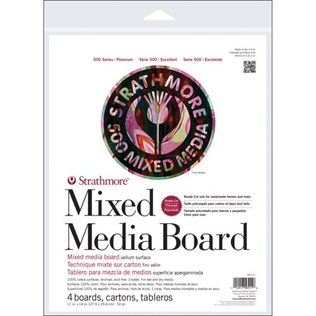 Mix Board - Pro-Art Strathmore Mixed Media Board, 11