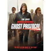 Mission Impossible 4-ghost Protocol [dvd] by