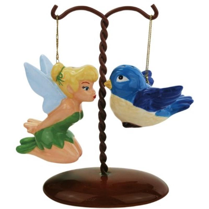 Westland Giftware Tinker Bell and Bird on Tree Ceramic Sa...