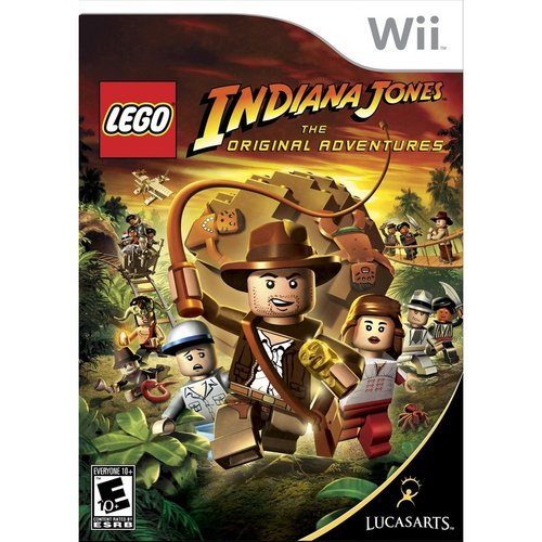 Lego Indiana Jones-Original (Wii) - Pre-Owned