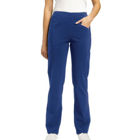 Inspire by White Cross Women's Slip On Fitted Scrub Pant (Doctor On Scrubs)