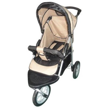 AmorosO 35230 Brown and Black Single Jogging Stroller