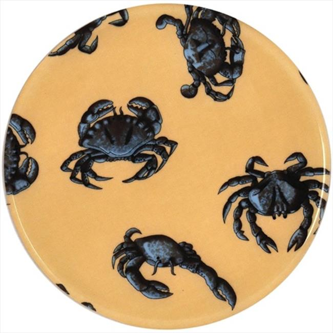 Andreas TR-236 Blue Crab Silicone Trivet - Pack of 3 trivets