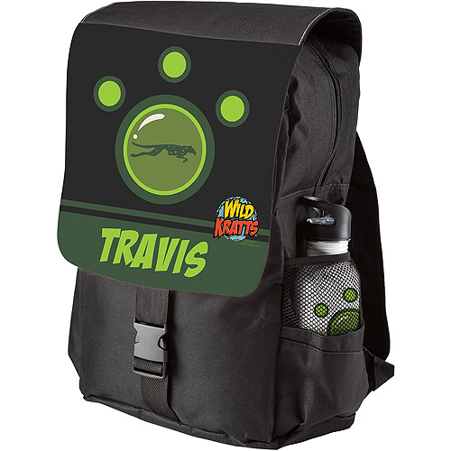 Personalized Wild Kratts Green Creature Power Backpack