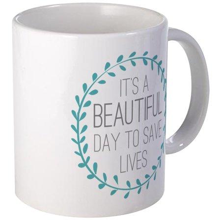 (CafePress - Greys Anatomy Its A Beautiful Day Mug - Unique Coffee Mug, Coffee Cup CafePress)