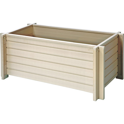 "New Age Pet EcoChoice 42"" Square Planter by New Age Pet"