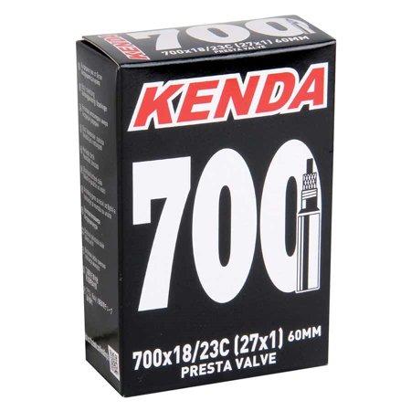 Kenda, 700X18/23 (27X1) R/V 60mm Removable Presta Core Threaded Valve ()