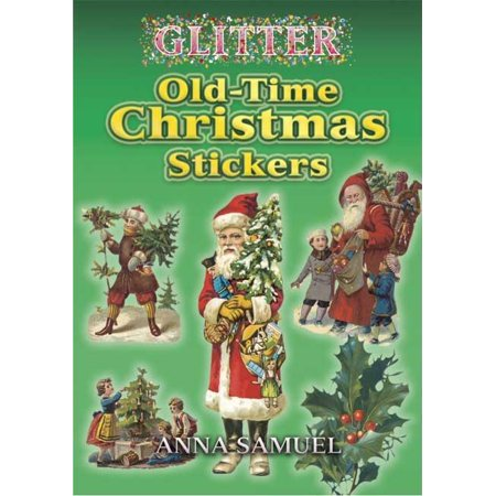 Glitter: Glitter Old-Time Christmas Stickers (Paperback)