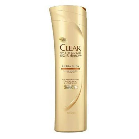 Clear Deep Cleanse and Nourish Shampoo, Ultra Shea 12.9 oz