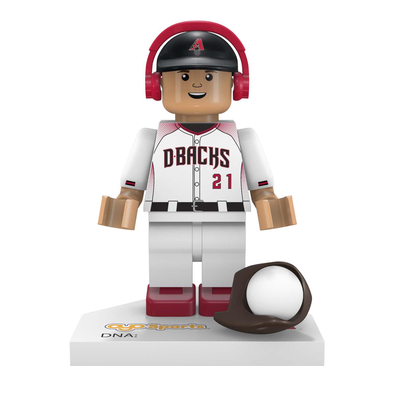 Zack Greinke Arizona Diamondbacks OYO Sports Generation 5 Mini Figurine - No Size