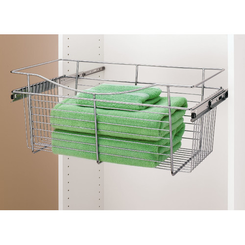 Rev-A-Shelf  CB-181407  Baskets  CB  Closet Organizers  ;Chrome