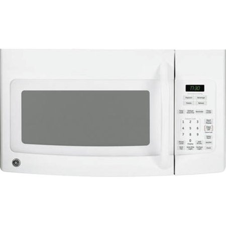 GE; 1.7 Cu. Ft. Over-the-Range Microwave Oven, White