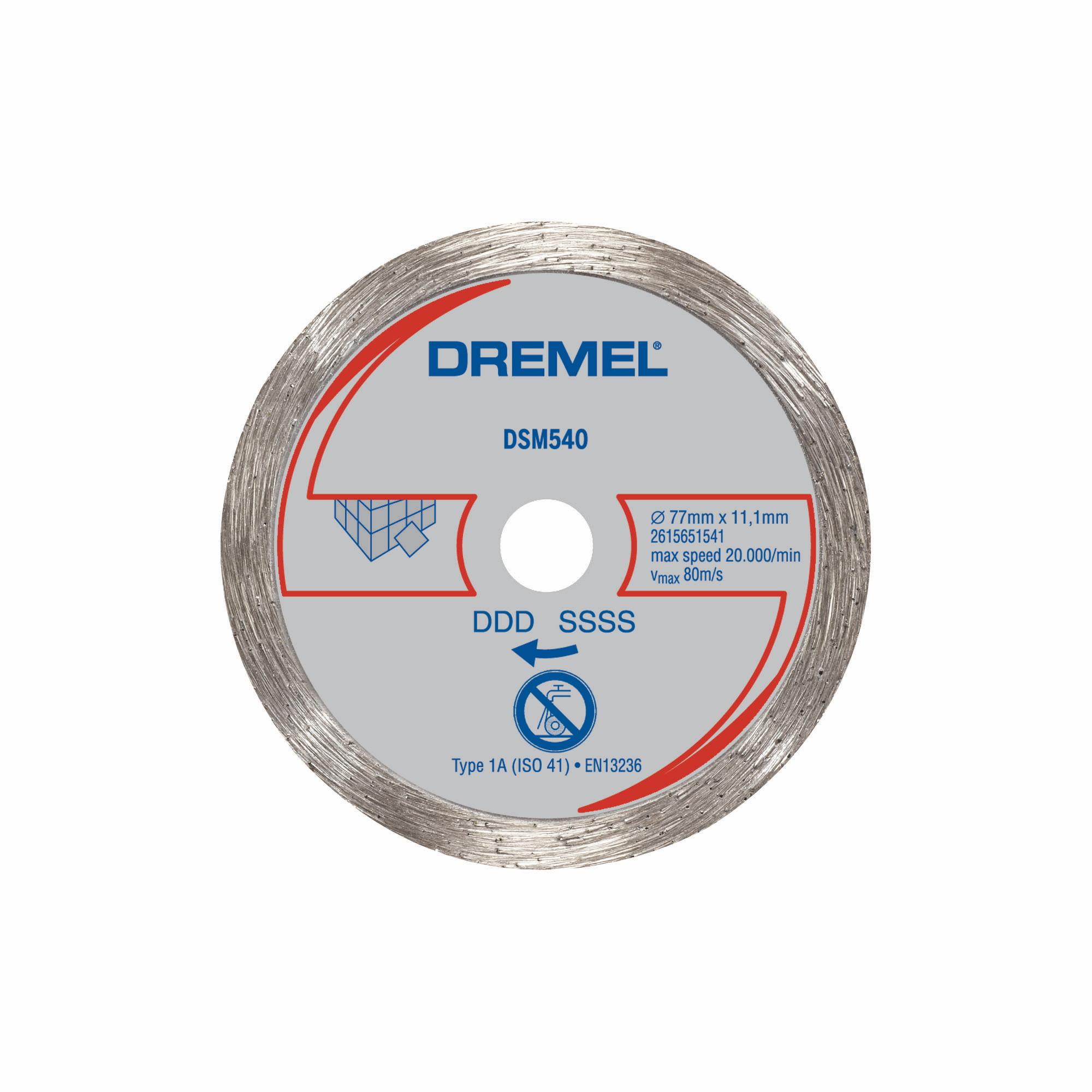 Dremel Sm540 Saw Max 3 Inch Diamond Tile Wheel Walmart