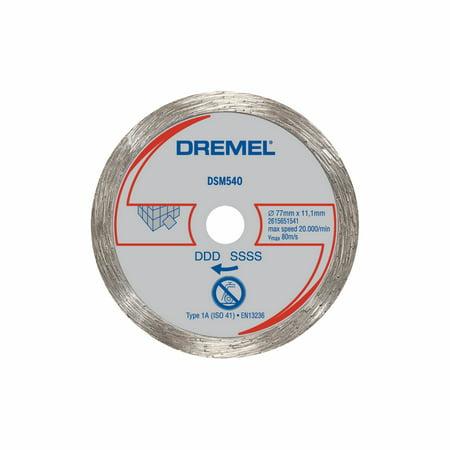 Dremel SM540 Saw-Max 3 inch Diamond Tile Wheel