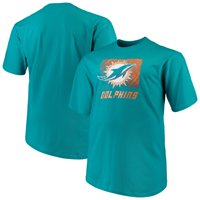 3a9879b702c9 Product Image Men s Majestic Aqua Miami Dolphins Big   Tall Reflective ...