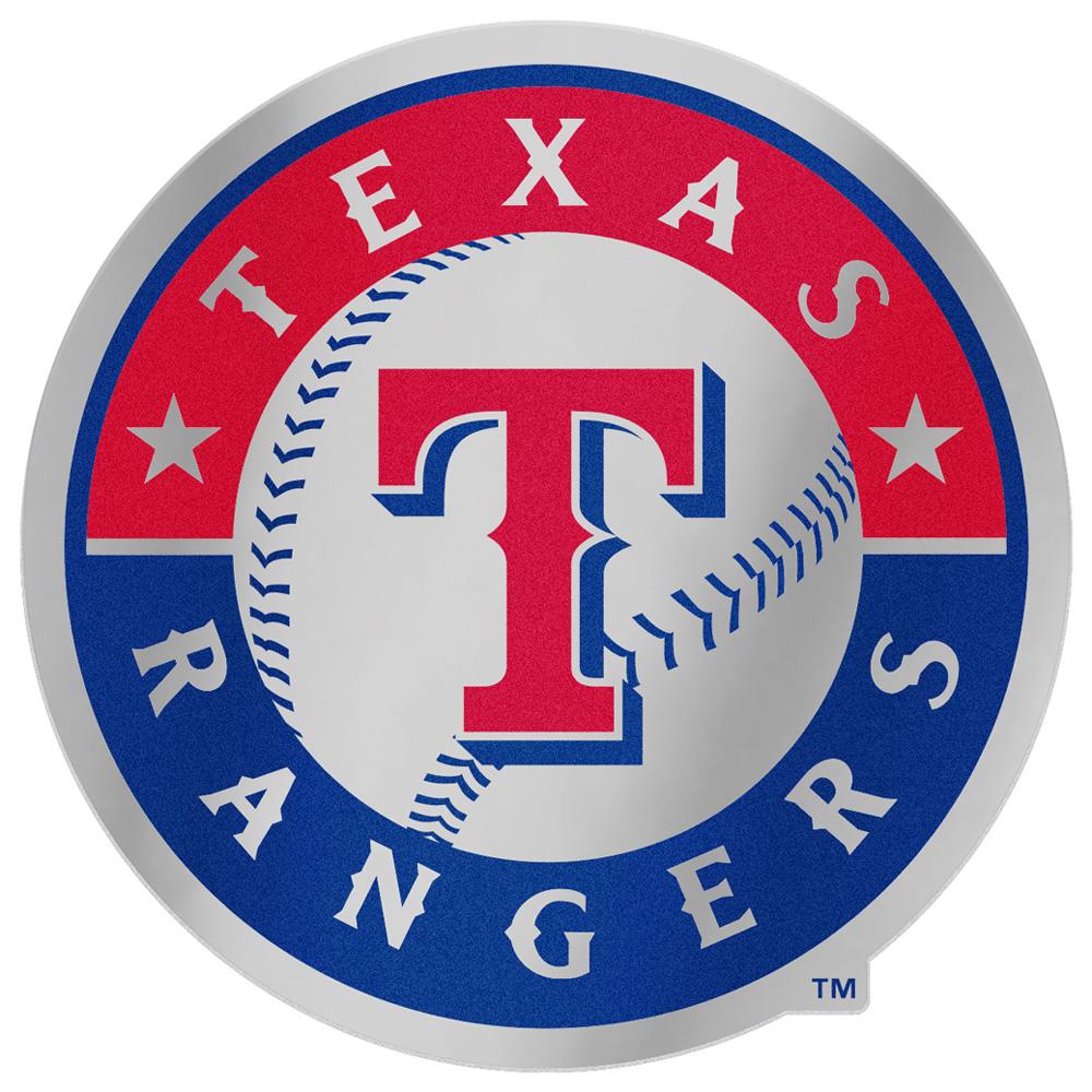 "Texas Rangers WinCraft 5"" x 2.5"" Auto Emblem Decal - No Size"
