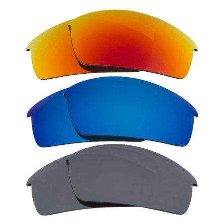 Bottlecap Replacement Lenses Polarized Blue Red Black Iridium by SEEK fit
