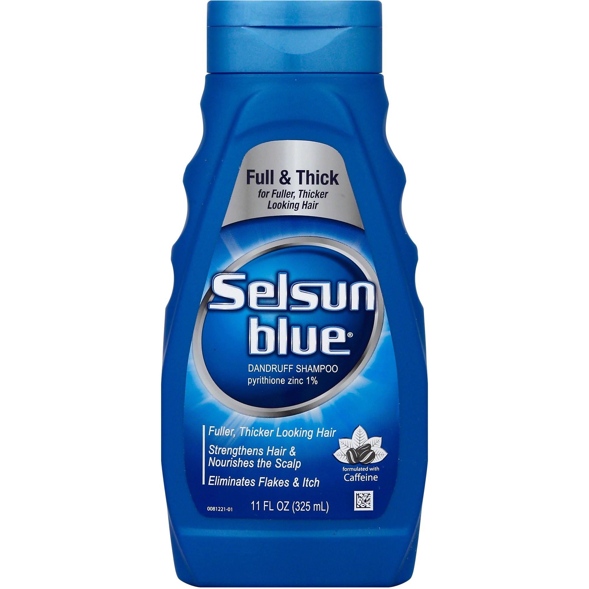 Selsun Blue Full & Thick Dandruff Shampoo, 11 fl oz