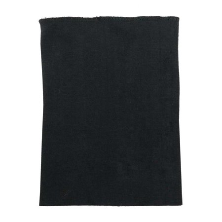 Redline Leather Unisex Winter Stretchy Neck Gaiter - Soft Solid Black 7053