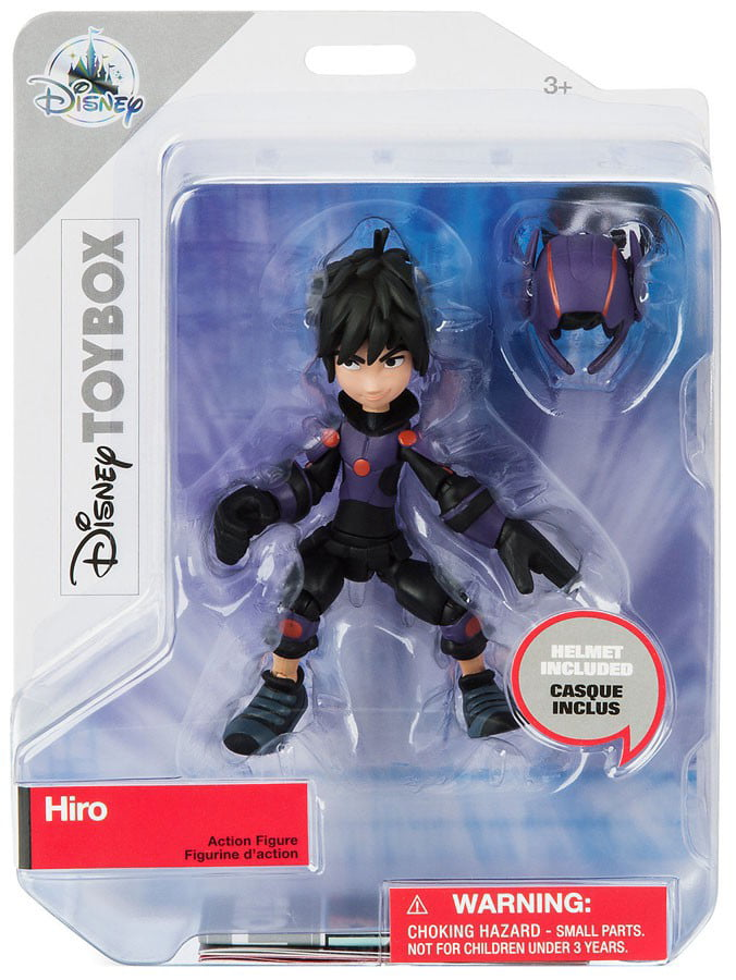 Disney Big Hero 6 Baymax Action Figure Toybox New With Box Walmart Com Walmart Com