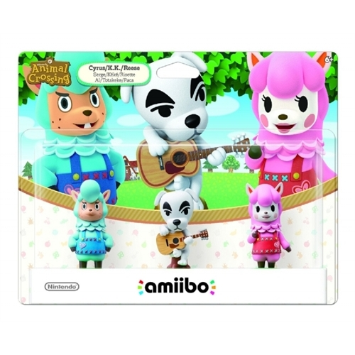 Animal Crossing amiibo 3 Pack (Universal)