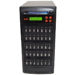 SySTOR 1 to 34 Multiple USB Thumb Drive Duplicator / USB Flash Card Copier (USBD-34)