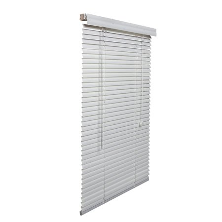 Lotus & Windoware, Inc White 1 Inch Aluminum Blinds 31 To 40 Inch Wide by Lotus & Windoware, Inc