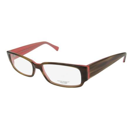 New Oliver Peoples Dorfman Mens/Womens Designer Full-Rim Olive Brown Fashionable Japan Made Frame Demo Lenses 50-14-140 Eyeglasses/Eye Glasses ()