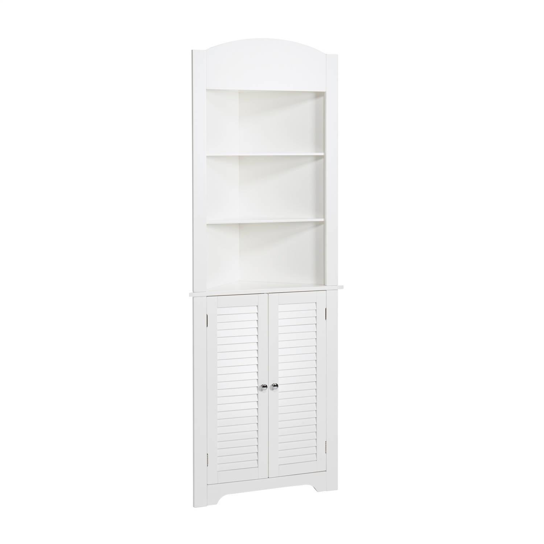 RiverRidge Ellsworth Tall Corner Cabinet, White