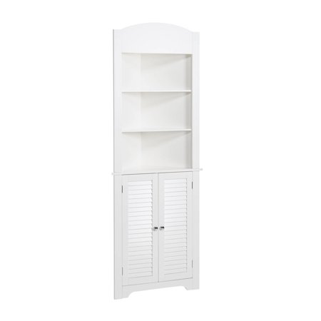 RiverRidge Ellsworth Tall Corner Cabinet, White - RiverRidge Ellsworth Tall Corner Cabinet, White - Walmart.com