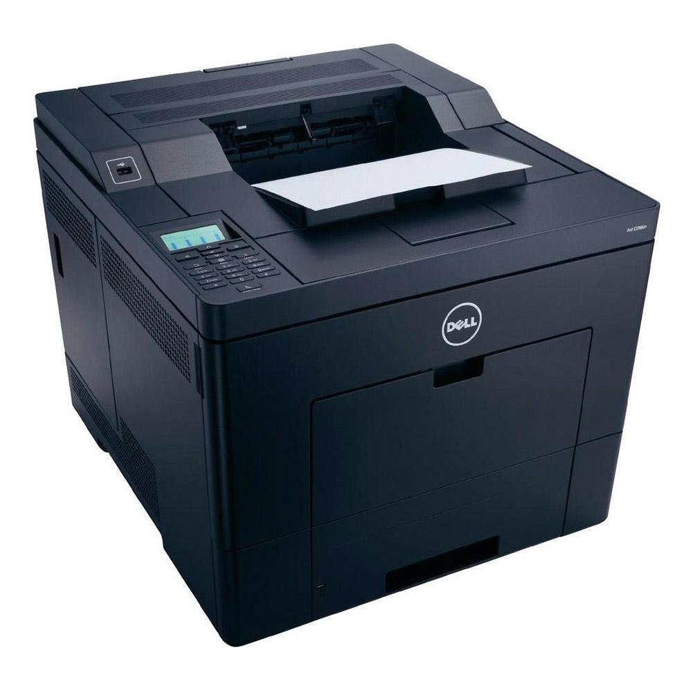 Dell - C3760DN - C3760dn Clr Laser 23ppm 600x600 Stndrd Ltr Usb Enet Wl 768mb Pcl6