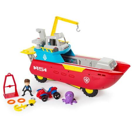 PAW Patrol Sea Patroller Transforming Vehicle Only $24.88
