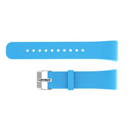 21CM Large Sized Silicone Watch Band Replacement for Samsung Gear Fit2 Pro R360 R365 R366 Smart Watch