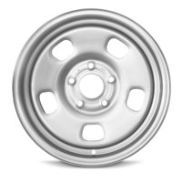 "New 17"" Steel Rim For Dodge Ram 1500 (13-18) 17x7 Inch 5 Lug Silver Replacement Wheel Rim"