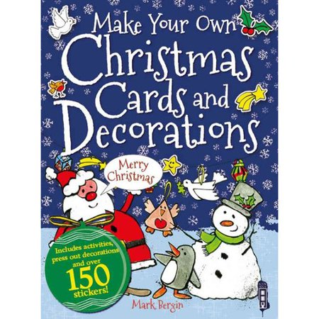 Make your own christmas cards and decorations Make your own christmas bunting