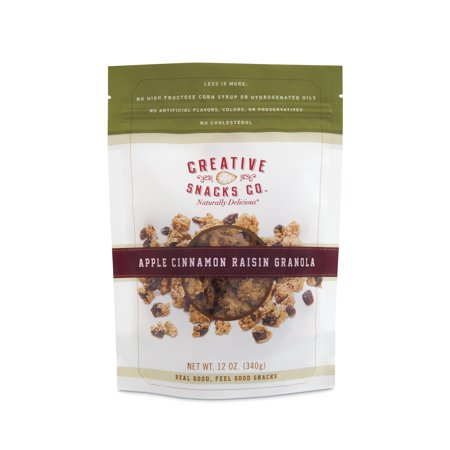 - CREATIVE GRANOLA APPLE CINNAMON RAISIN, 12 OZ