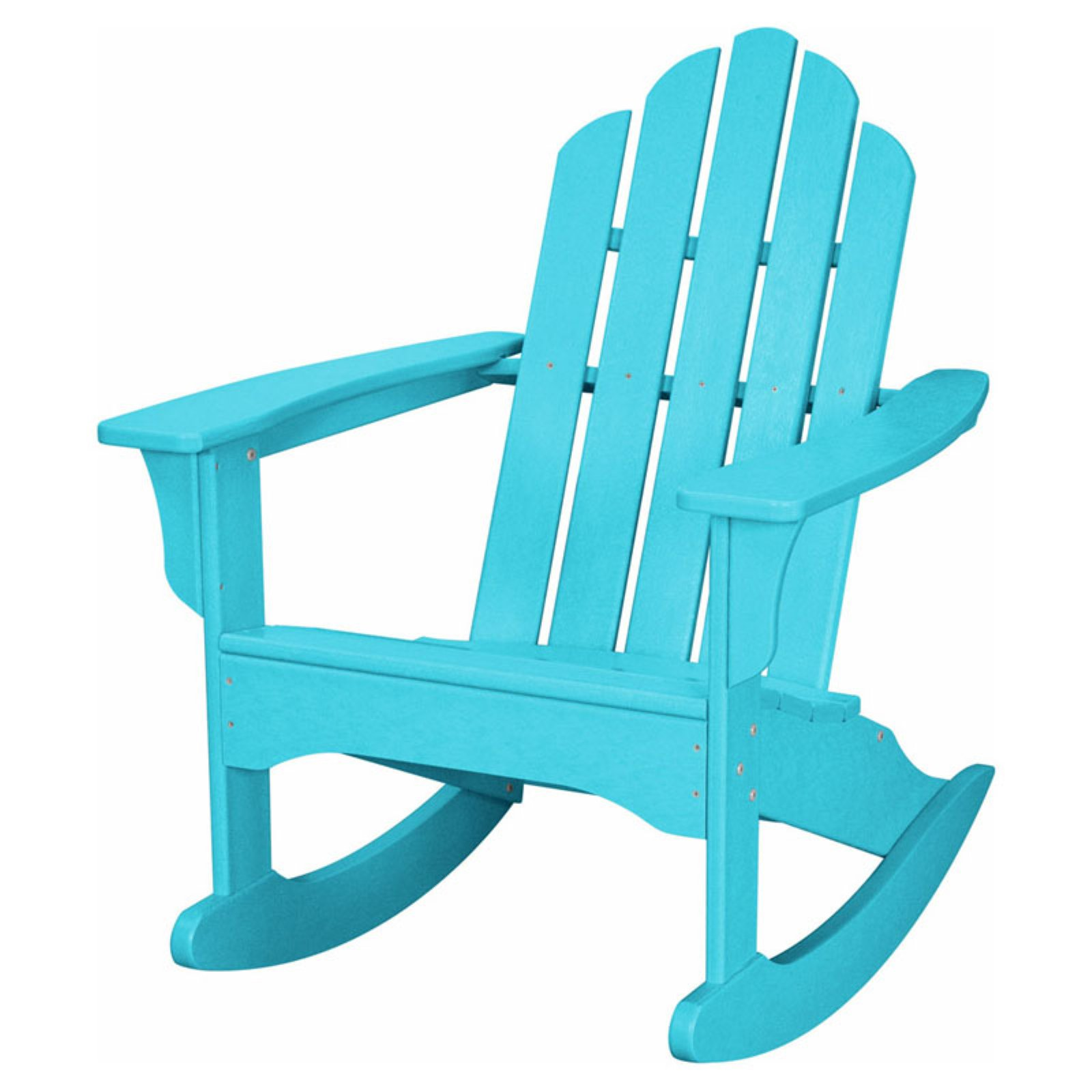 Hanover Outdoor Furniture All-Weather Contoured Adirondack Rocking Chair