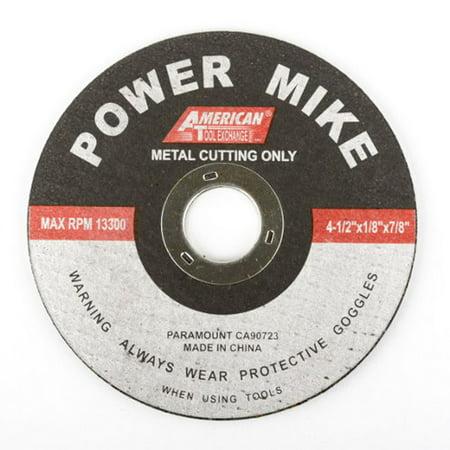 "4-1/2""X1/8""X7/8"" Abrasive Cut Off Wheels Cutting Blades Metal"