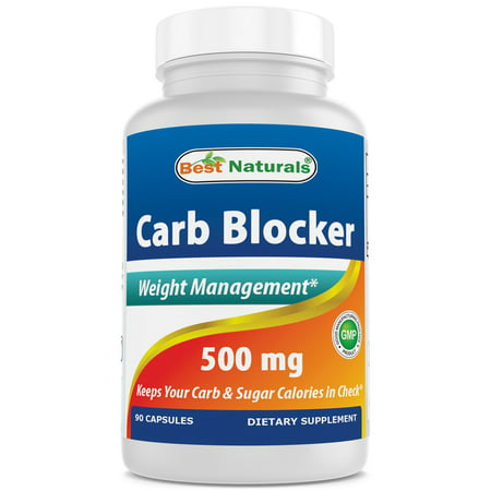 Best Naturals Carb Blocker Weight Loss Supplement, 500 mg, 90