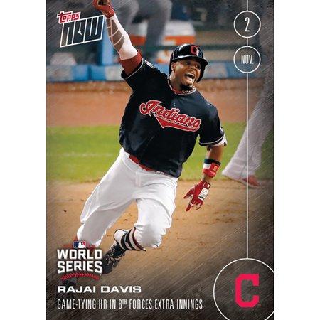 Mlb Cleveland Indians Rajai Davis  659 2016 Topps Now Trading Card