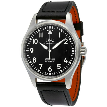 IWC Pilot's Mark XVIII Automatic Black Dial Mens Watch IW327001
