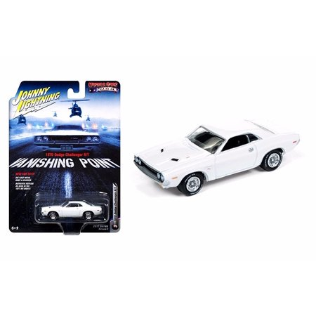 - Johnny Lightning Vanishing Point 1/64 Scale 1970 Dodge Challenger R/T Diecast Model Car