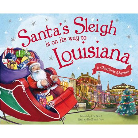 Santa's Sleigh Is on Its Way to Louisiana - When Is Halloween In Louisiana