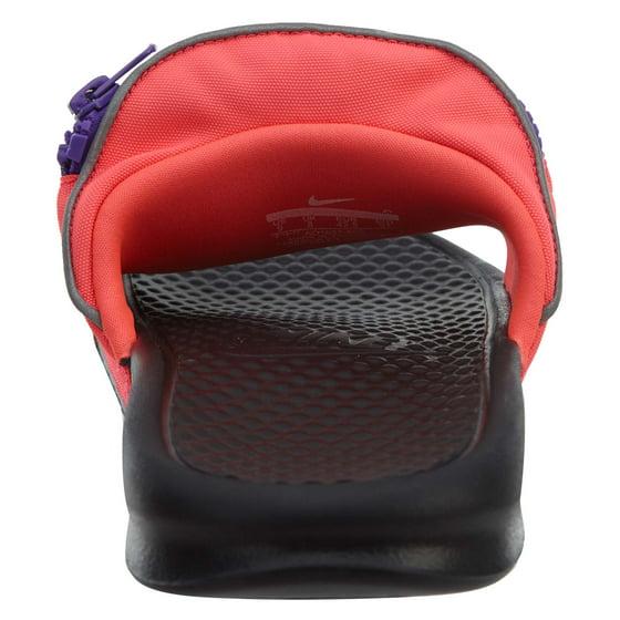 b052044297b0 Nike - Mens Nike Benassi JDI Just Do It Fanny Pack Slide Hyper Punch Black  Hy - Walmart.com