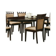 Coaster Company Gabriel Dining Table, Cappuccino, Chairs Sold Separately