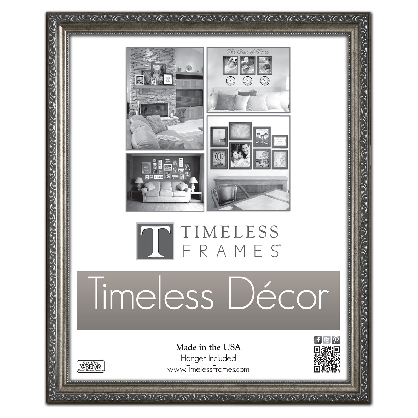Timeless Frames Carrington Polystyrene Picture Frame