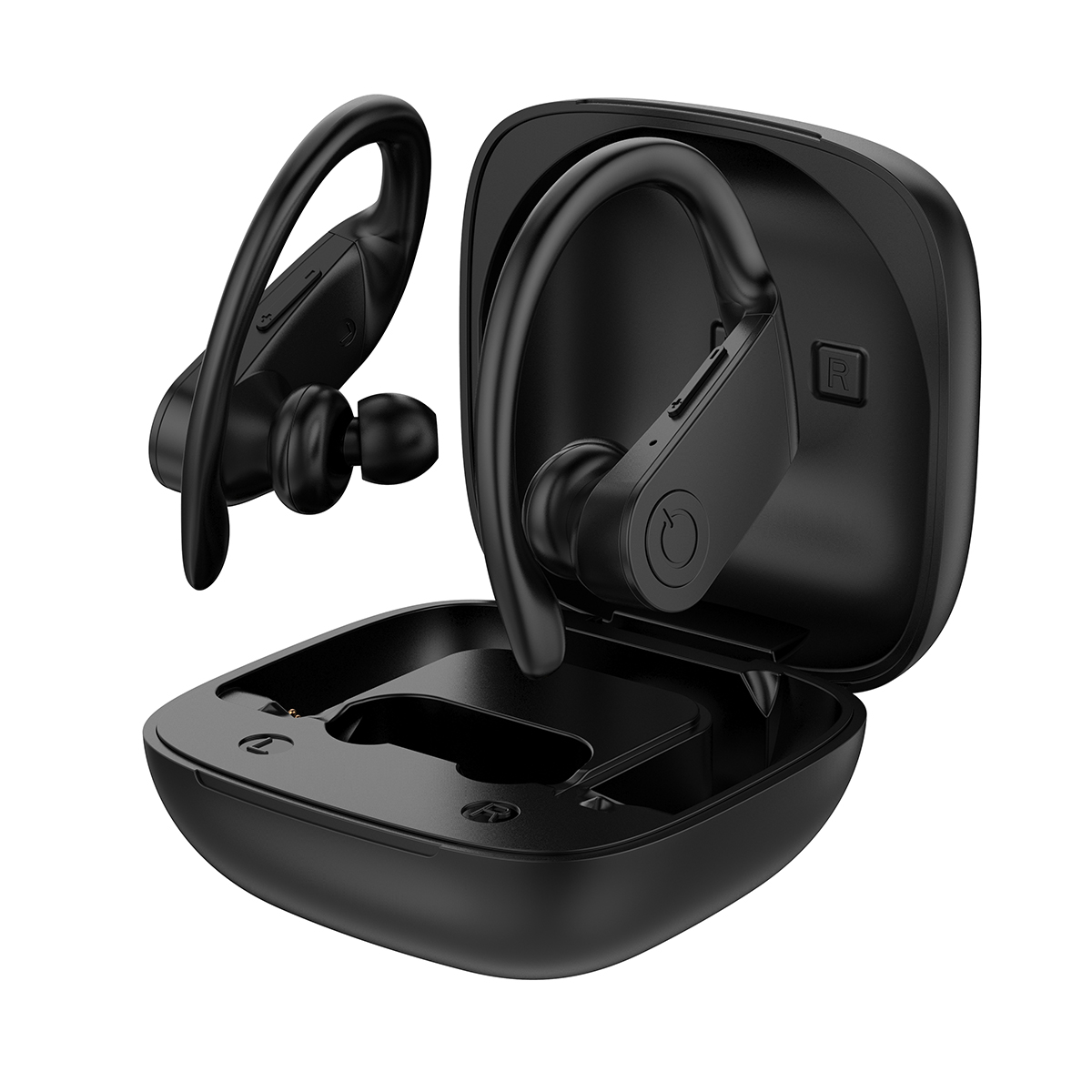 B11 Tws Wireless Earbuds Bluetooth 5 0 Led Earphone Ipx5 Waterproof Stereo Ear Hook Headset Headphone With Charging Case For Iphone For Samsung Smart Phone Walmart Com Walmart Com