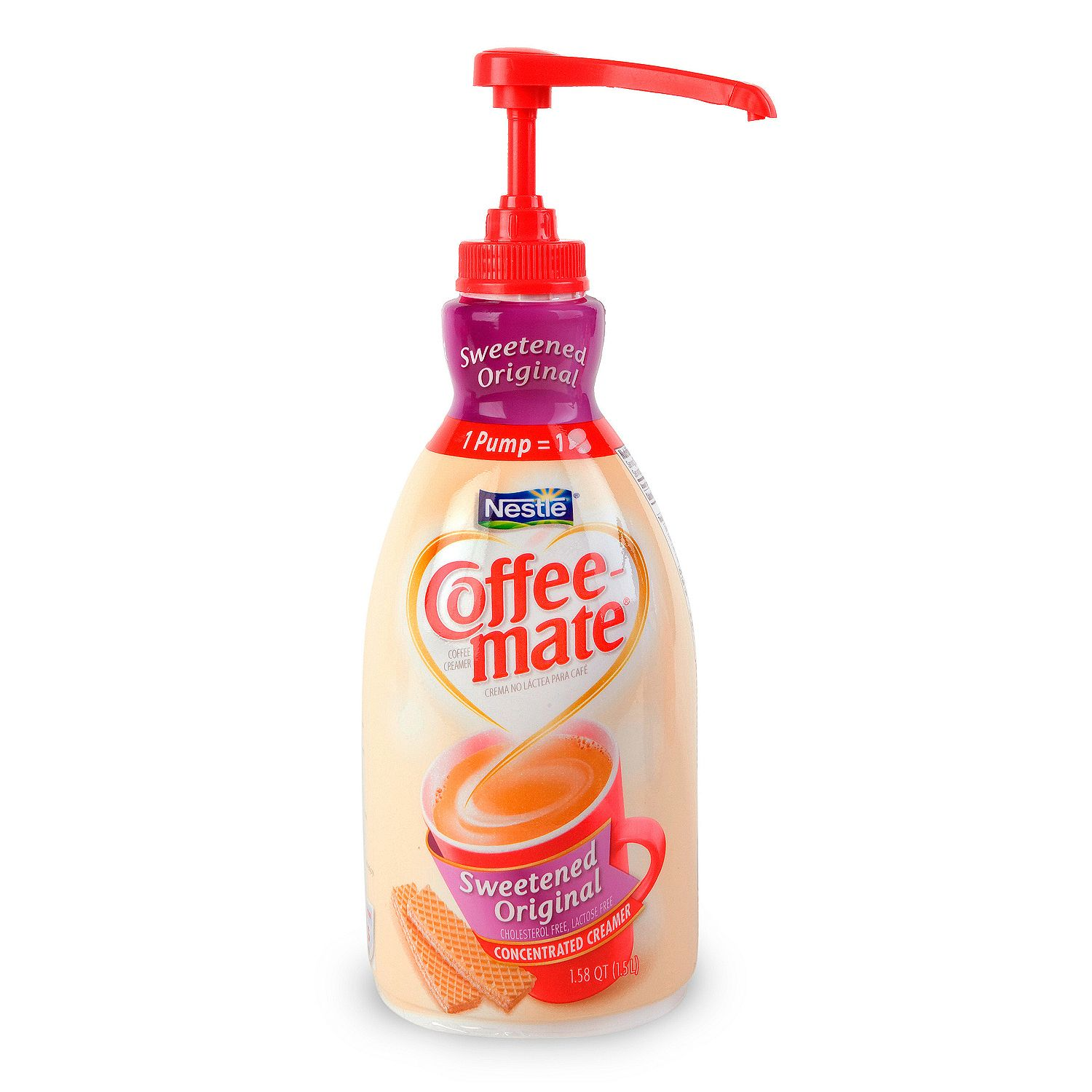 Product of Nestle Coffee-mate Coffee Creamer, Sweetened Original, (1.58 qt.)- Pack of 2 - [Bulk Savings]