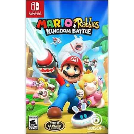 Mario + Rabbids Kingdom Battle, Ubisoft, Nintendo Switch